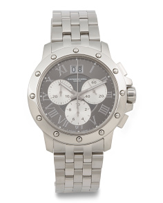 Men's Swiss Made Chronograph Tango Bracelet Watch