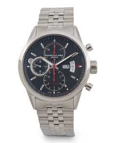 Men's Swiss Made Chrono Freelancer Bracelet Watch