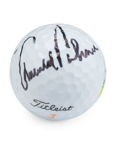 Arnold Palmer Signed Augusta Masters Golf Ball