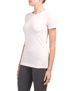 Seamless Short Sleeve Top