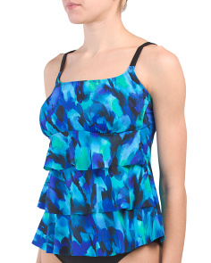 Rhapsody Three Tier Tankini Top