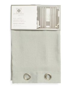 38x96 Set Of 2 London Linen Look Curtains