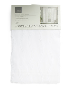 38x84 Set Of 2 Belfast Sheer Curtains