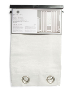 38x84 Set Of 2 Faux Silk Blackout Curtains