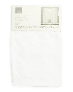 38x84 Set Of 2 Bradford Sheer Curtains