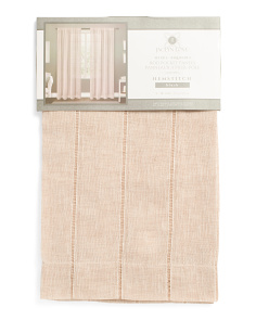 38x84 Set Of 2 Hemstitch Sheer Curtains