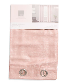 38x84 Set Of 2 Shimmer Texture Curtains