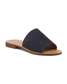 Made In Italy Suede Sandals