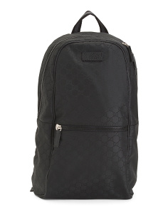 Made In Italy Gg Backpack