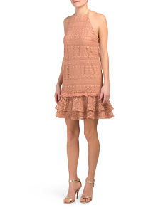 Elizabeth Lace Shift Dress