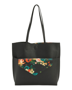 Elena 2-in-1 Tote With Pouch
