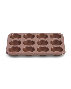 12 Cup Stainless Steel Muffin Pan