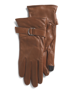 Glace Lined Leather Gloves