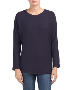 Crew Neck Dolman Top