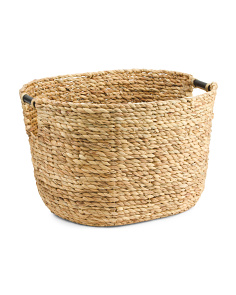 Extra Large Natural Havana Storage Basket
