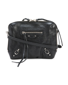 Made In Italy Reporter Classic Leather Crossbody