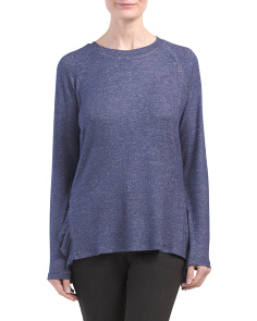 Cozy Tunic With Side Slits