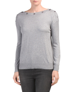 Soft Boat Neck Sweater