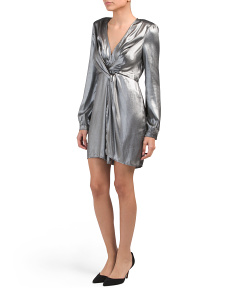 Metallic Dominique Dress