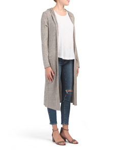Juniors Sand Long Cardigan