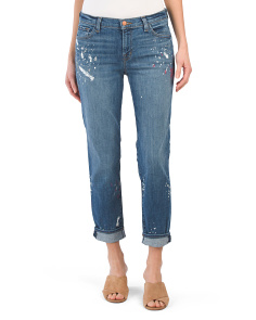 Made In Usa Johnny Mid Rise Boyfriend Jeans