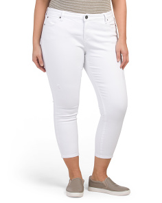 Plus Catherine Ankle Straight Jeans