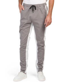 Double Sided Stripe Joggers