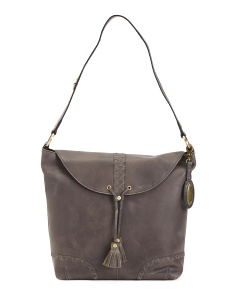 Leather Distressed Oatfort Hobo