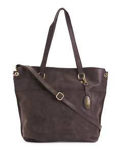 Leather Distressed Baxter Tote