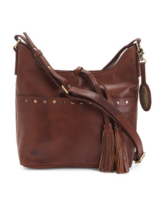 Wantworth Bronco Leather Crossbody