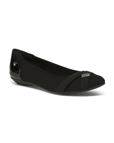 Pointy Toe Comfort Flats