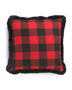 20x20 Buffalo Check Plaid Pillow