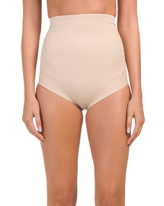 High Waist Brief Comfort Leg Shapewear