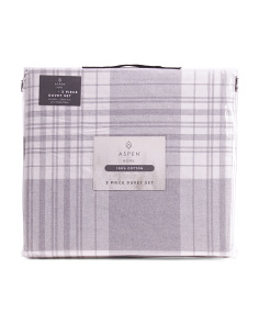 Flannel Campbell Duvet Set