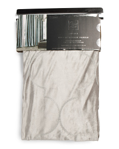 38x84 Set Of 2 Delmore Velvet Curtains