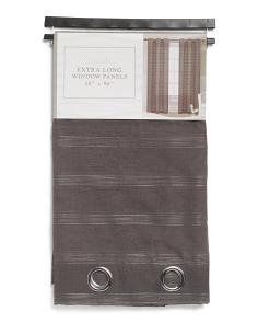 38x96 Set Of 2 Pantera Sheer Curtains