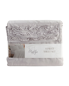 Ruffle Sheet Set