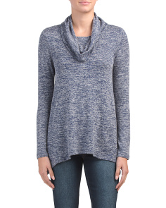 Cozy Cowl Neck Tunic