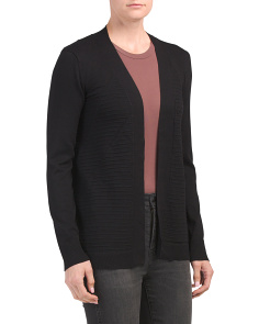 Ribbed Duster Cover Up Cardigan