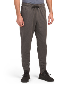 Fleece Joggers With Back Pocket