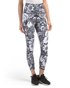 High Waist Vintage Floral Leggings