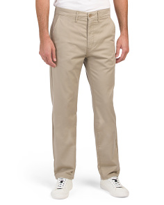 Straight True Chino Stretch Pants