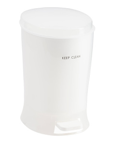 Keep Clean Bullet Step Waste Can