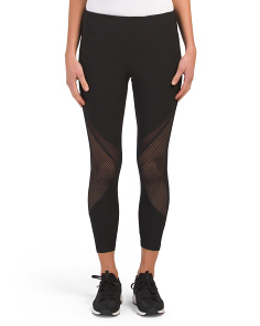 Power Mesh Insert Leggings