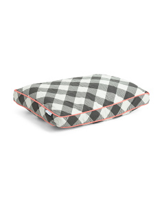 Prairie Buffalo Check Pet Bed