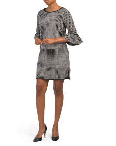 Double Knit Jacquard Dress