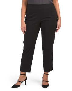 Plus Pull On Stretch Pants