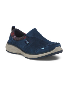 Slip On Suede Walking Sneakers