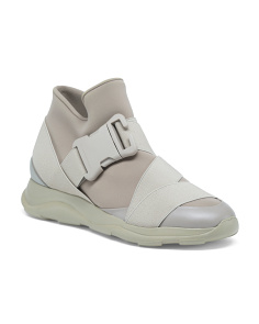 Made In Italy High Top Fashion Sneakers