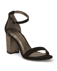 One Band Ankle Strap Sandals